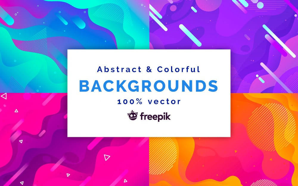 10 Abstract Vector Backgrounds for Premium Members