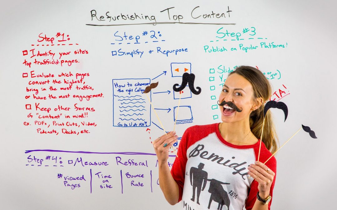 Refurbishing Top Content – Best of Whiteboard Friday