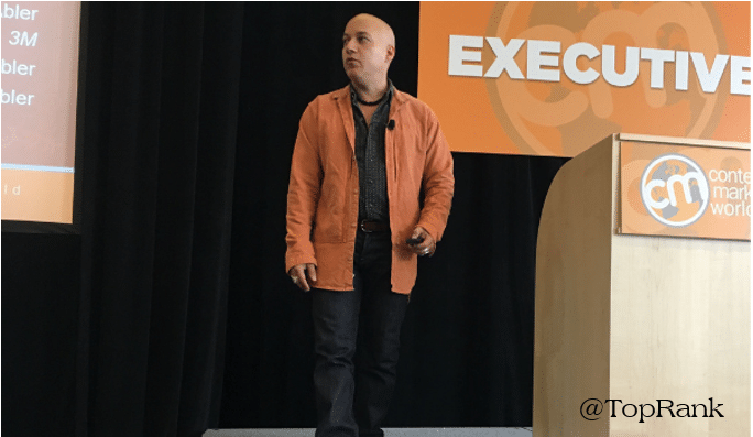 Carlos Abler on Content Marketing for the Greater Good #CMWorld