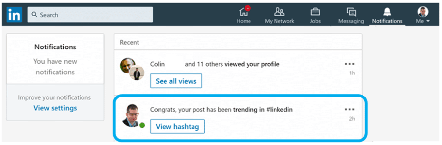 "What ""Your Post Has Been Trending"" on LinkedIn Means & Should You Care?"