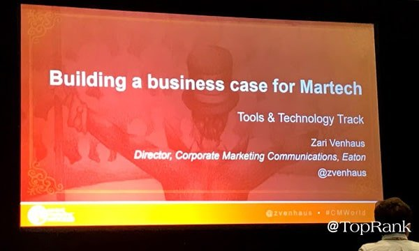 How to Get Executive Buy-In for Marketing Technology #CMWorld