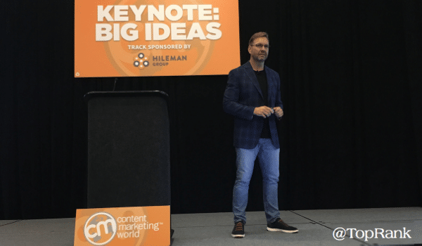 Lee Odden Shares His Secret to Content Marketing Fitness #CMWorld 2019