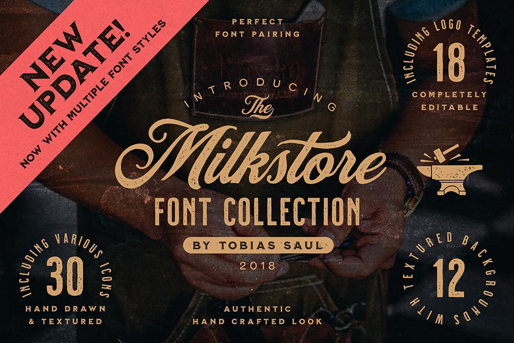 Easily Create Vintage Logos With This All-In-One Toolkit