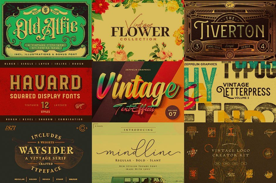 Nail the Vintage Look with This Massive Library of Resources