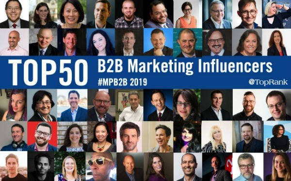 50 Top B2B Marketing Influencers, Experts and Speakers in 2019 #mpb2b