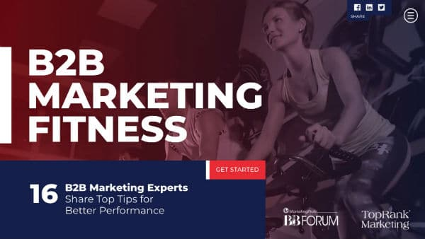 16 B2B Experts Share Top Tips for Optimized Performance #mpb2b