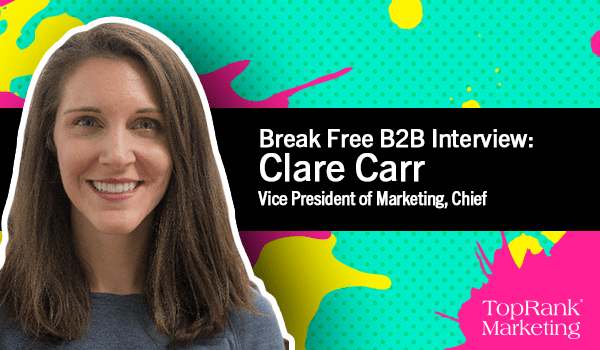 Clare Carr on Using Data to Drive Content Marketing Success
