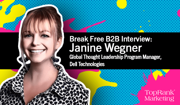 Janine Wegner on Building Brand Thought Leadership With the Help of Influencers