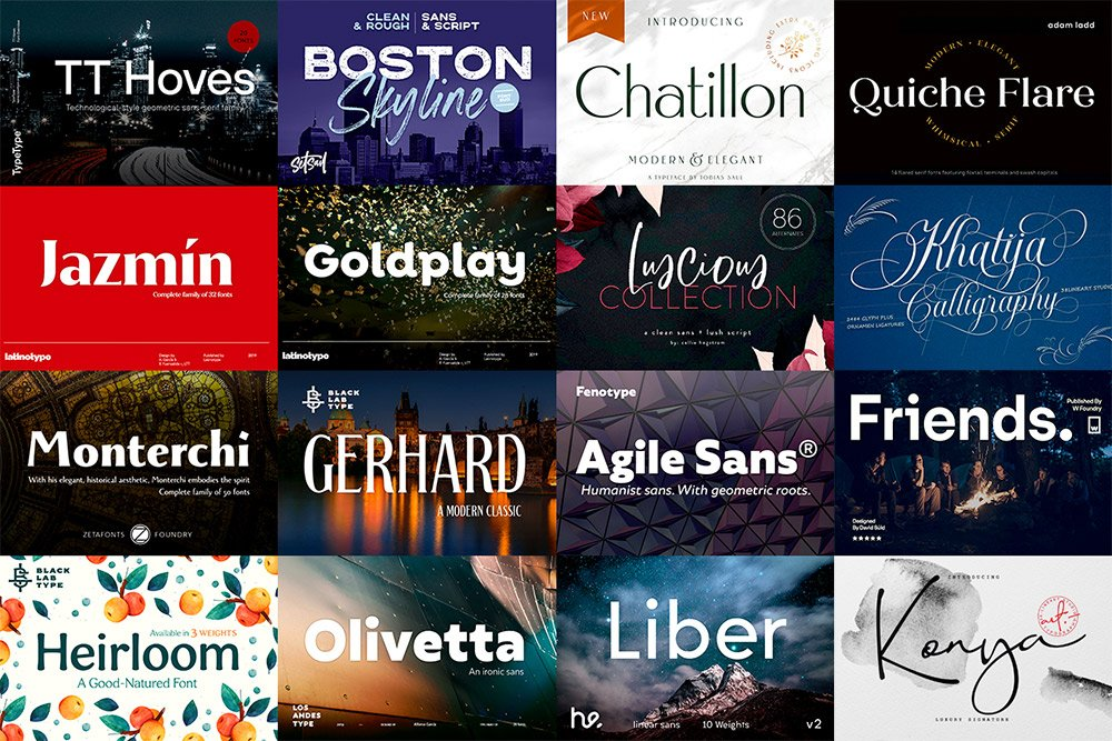 Pick up Some New Fonts for the New Year with a 99% Discount