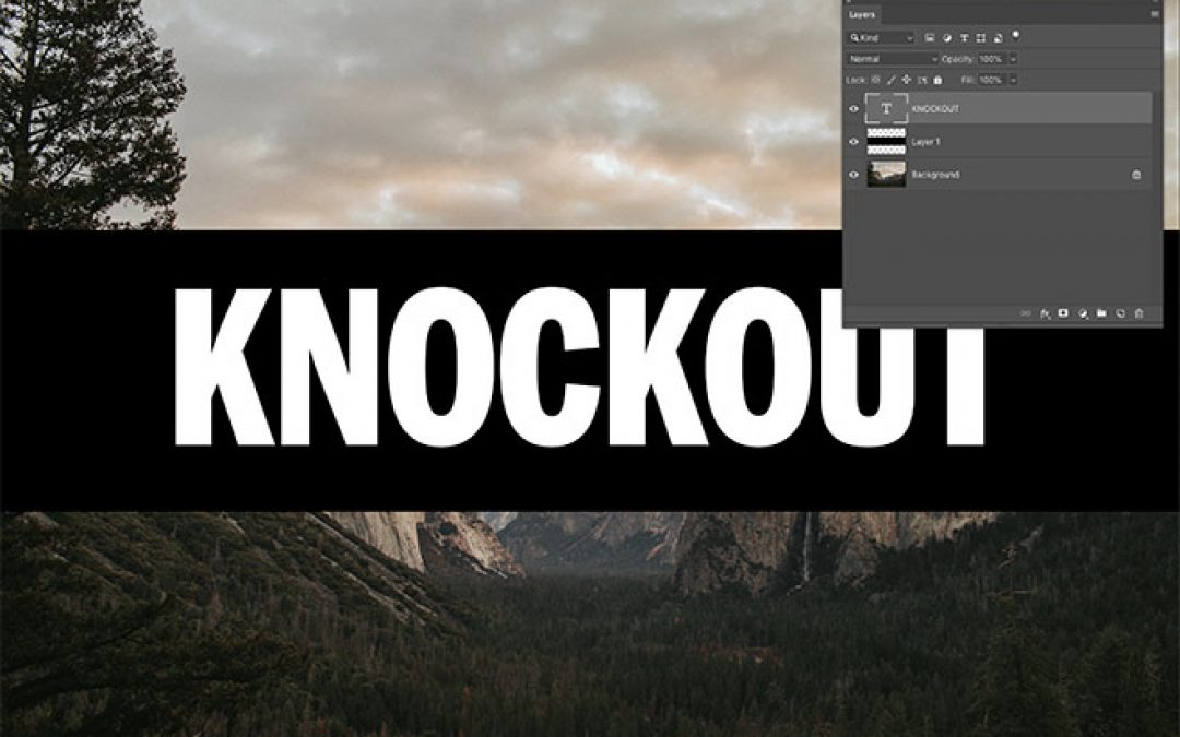 The Knockout Method is my New Favourite Photoshop Technique