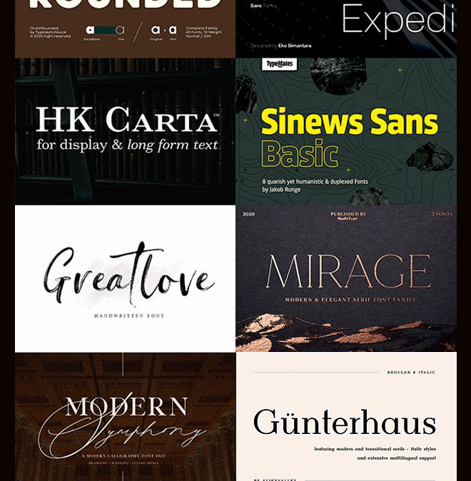 Pay Just $29 for The Type Designer's Sophisticated Font Kit