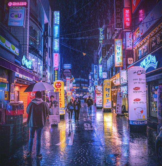 How to Apply Cyberpunk Style Color Grading & Neon Effects to Your Photos