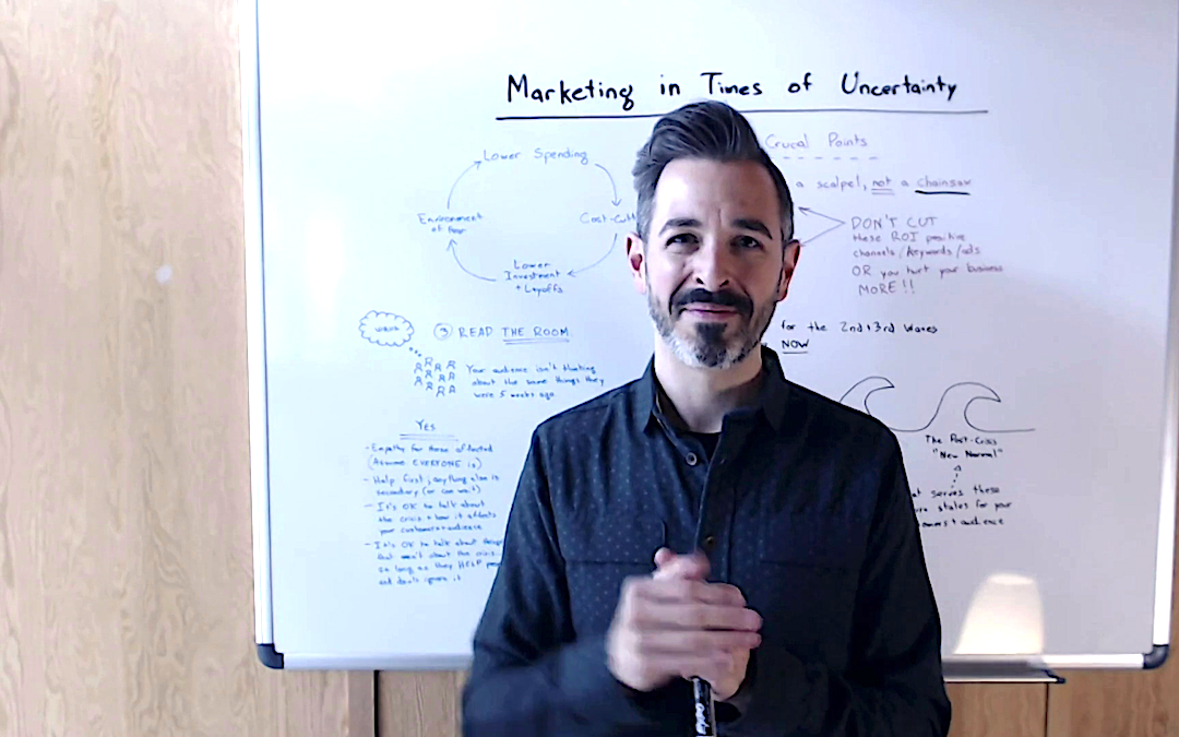 Marketing in Times of Uncertainty – Whiteboard Friday