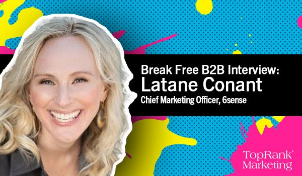 Latane Conant of 6sense on Reinventing the CMO Role
