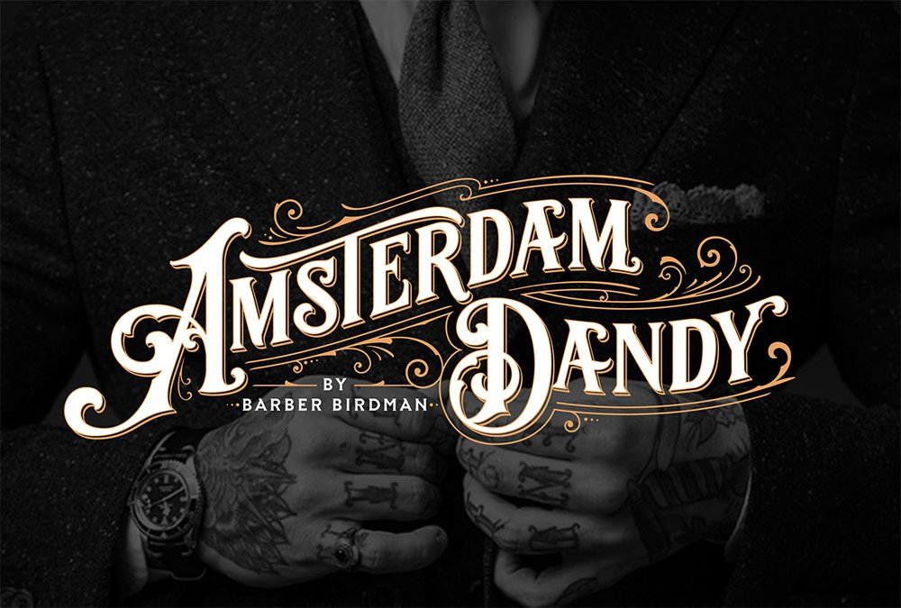 Showcase of Vintage Logo Designs with an Ornate Victorian Style