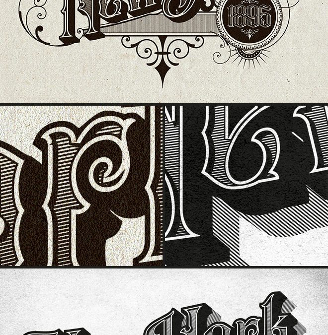 Vintage Text Effect in Adobe Illustrator