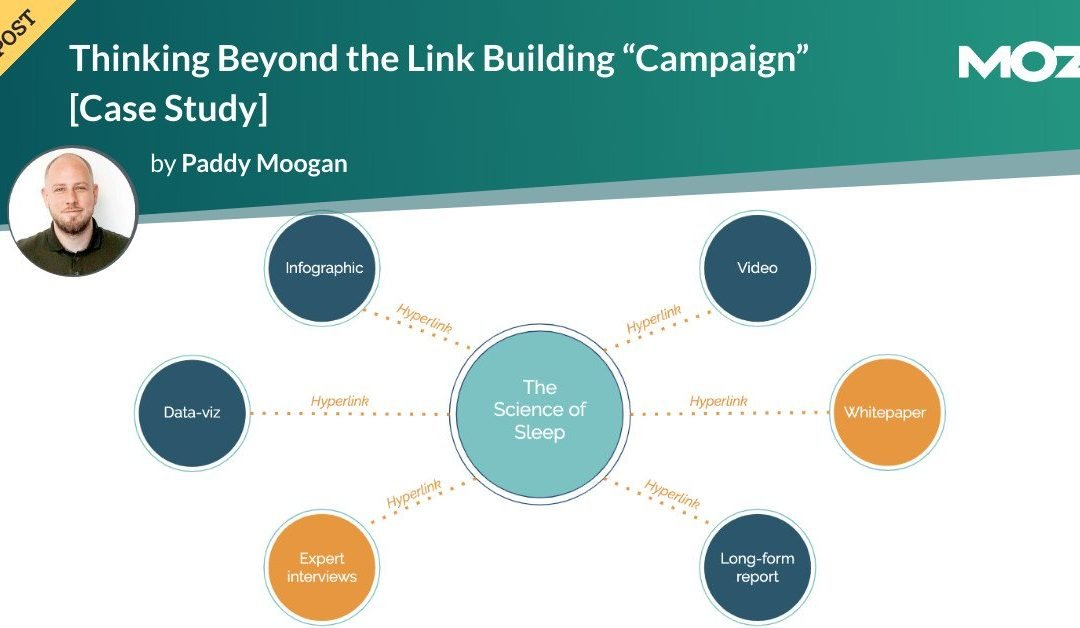 """Thinking Beyond the Link Building """"Campaign"""" [Case Study]"""