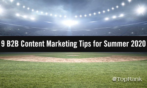 9 Summer Content Marketing Tips Drawn from the Diamond