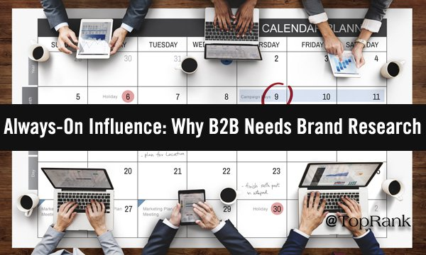 Why B2B Needs Brand Research & 11 Must-Ask Questions For Marketers