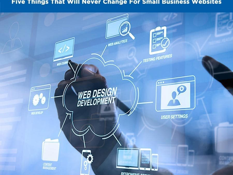 5 Things­ That Will Never Change For Small Business Websites