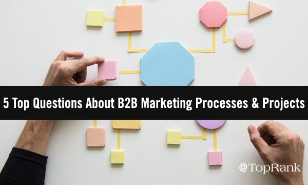 Top Questions B2B Marketers Ask About Projects and Process