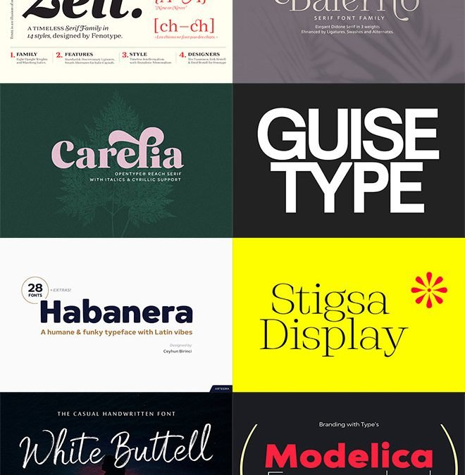 Upgrade Your Font Library with These Professional Level Typefaces at 99% Off