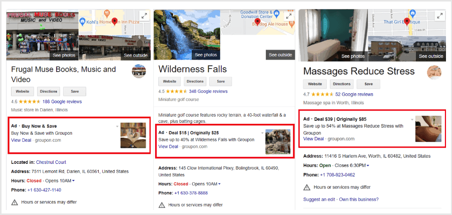 Google Is Now Testing Third-Party Ads on Google Business Listings. What Does the Test Mean for Marketers?