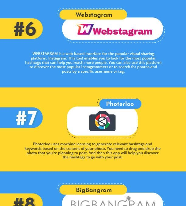 4 of the Best Free Hashtag Generator Tools [Infographic]