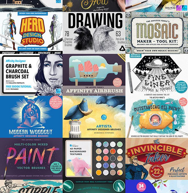 75 Best Affinity Resources for Half Price. Buy 5+ and Save a Further 50% Off!