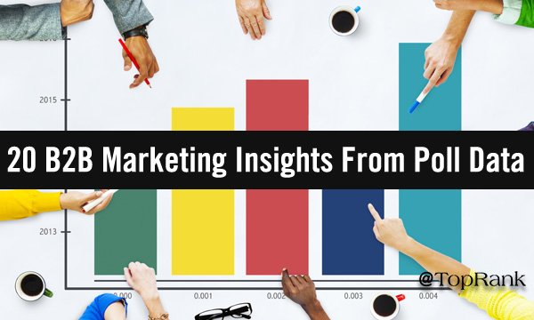 20 B2B Marketing Insights From Audience Poll Data