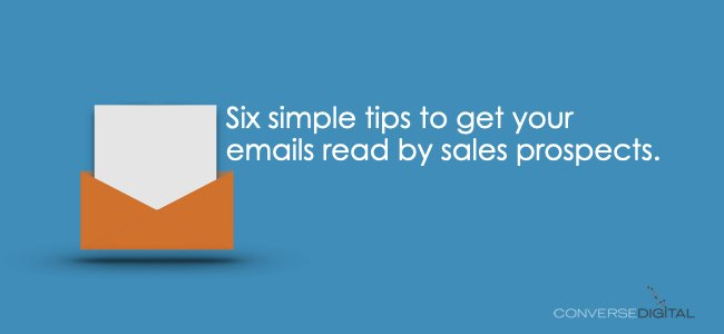 How to Write Sales Prospecting Emails That Convert