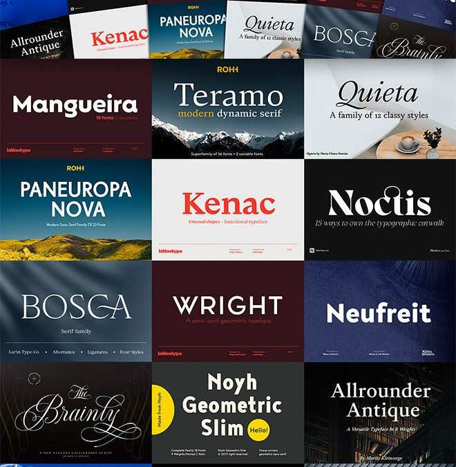 The Type Designer's Luxury Font Library Can Be Yours for $29