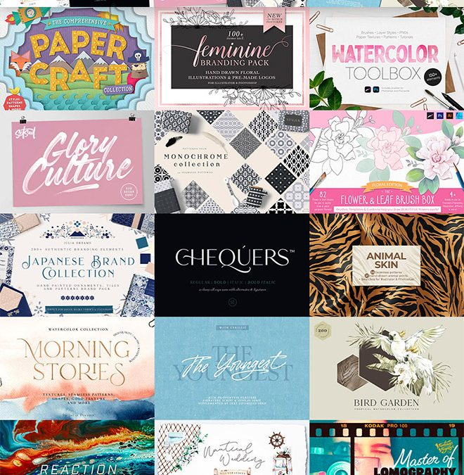 A Variety of Design Resources For Both Professional and Hobbyist Designers