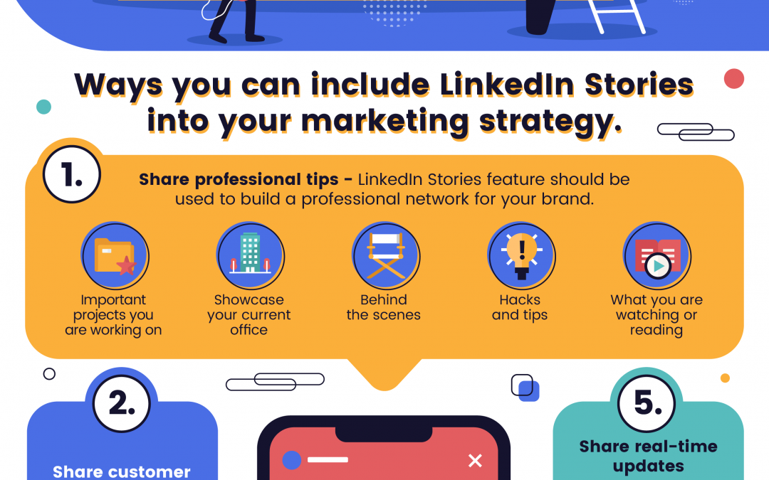 5 Ways You Can Use LinkedIn Stories [Infographic]