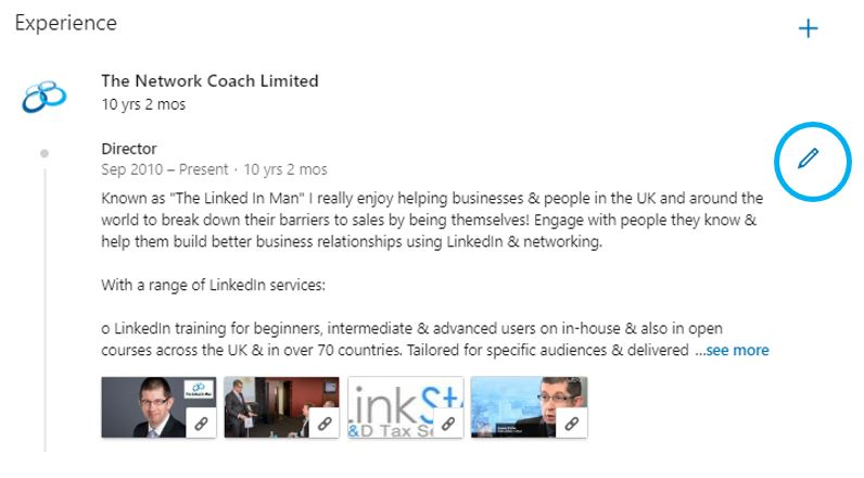 How to Add Rich Media, Website Links, Videos and More to Your LinkedIn Profile