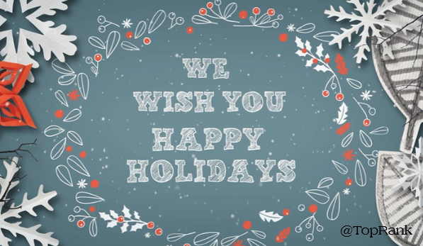 Happy Holidays from the Team at TopRank Marketing