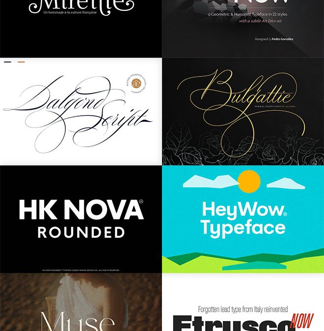 Expand Your Font Library With 16 Pro-Grade Font Families For Just $29