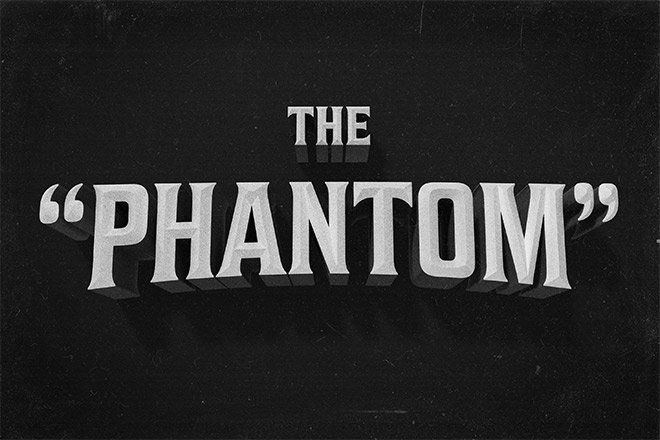 How To Create a Vintage Movie Title Text Effect in Adobe Photoshop