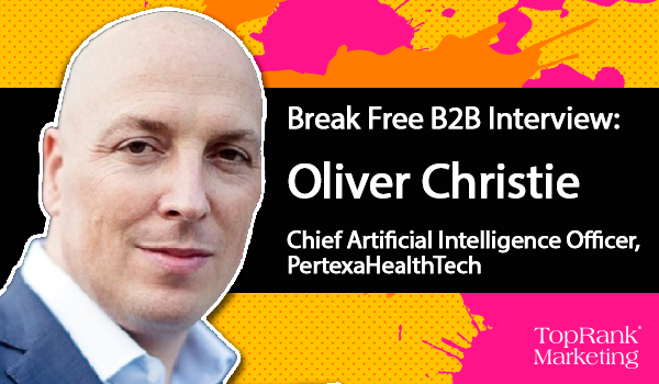 Oliver Christie on Making Life Better With AI