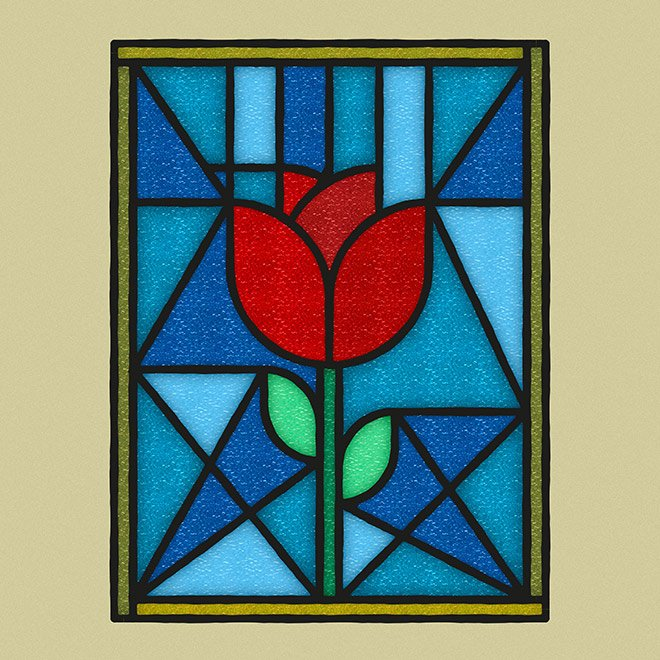 How to Create a Stained Glass Window Effect