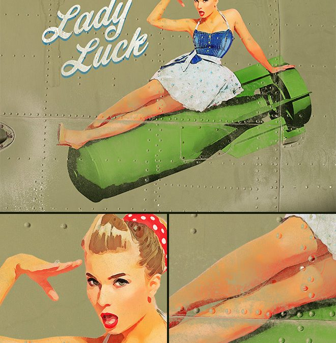 How to Create a Vintage Pin-Up Effect in Adobe Photoshop