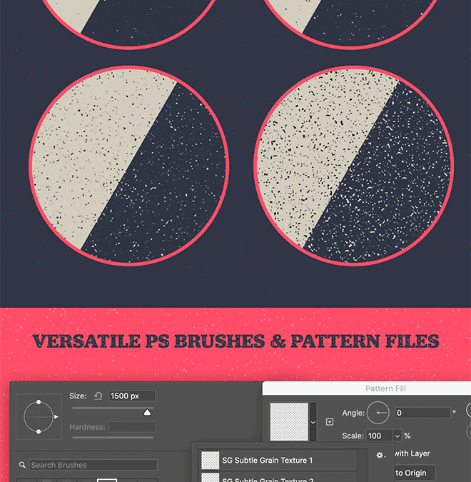 Download My Free Subtle Grain Photoshop Brushes and Patterns