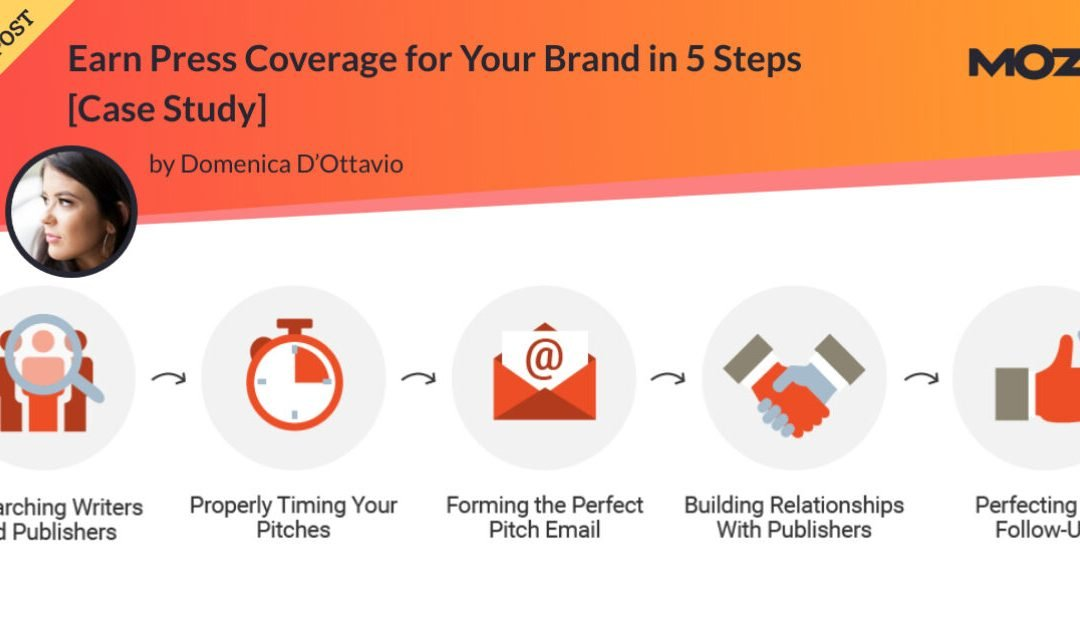 Earn Press Coverage for Your Brand in 5 Steps [Case Study]