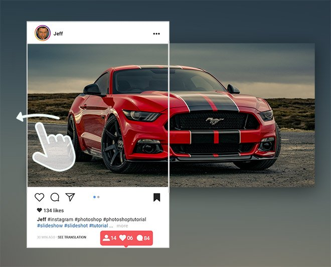 How to Create Seamless Panorama Slide Images for Instagram