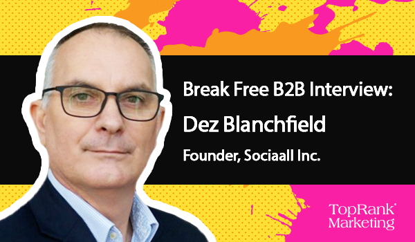 Dez Blanchfield of Sociaall on Joining the Conversation