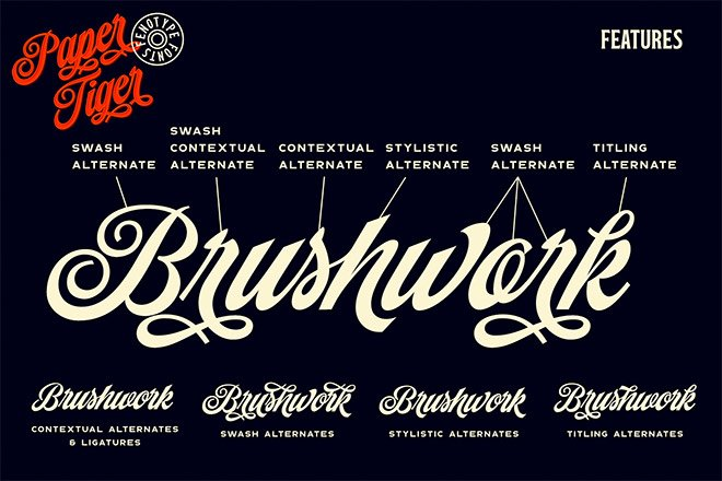 The Best Fonts For Creating Vintage Logos and Designs